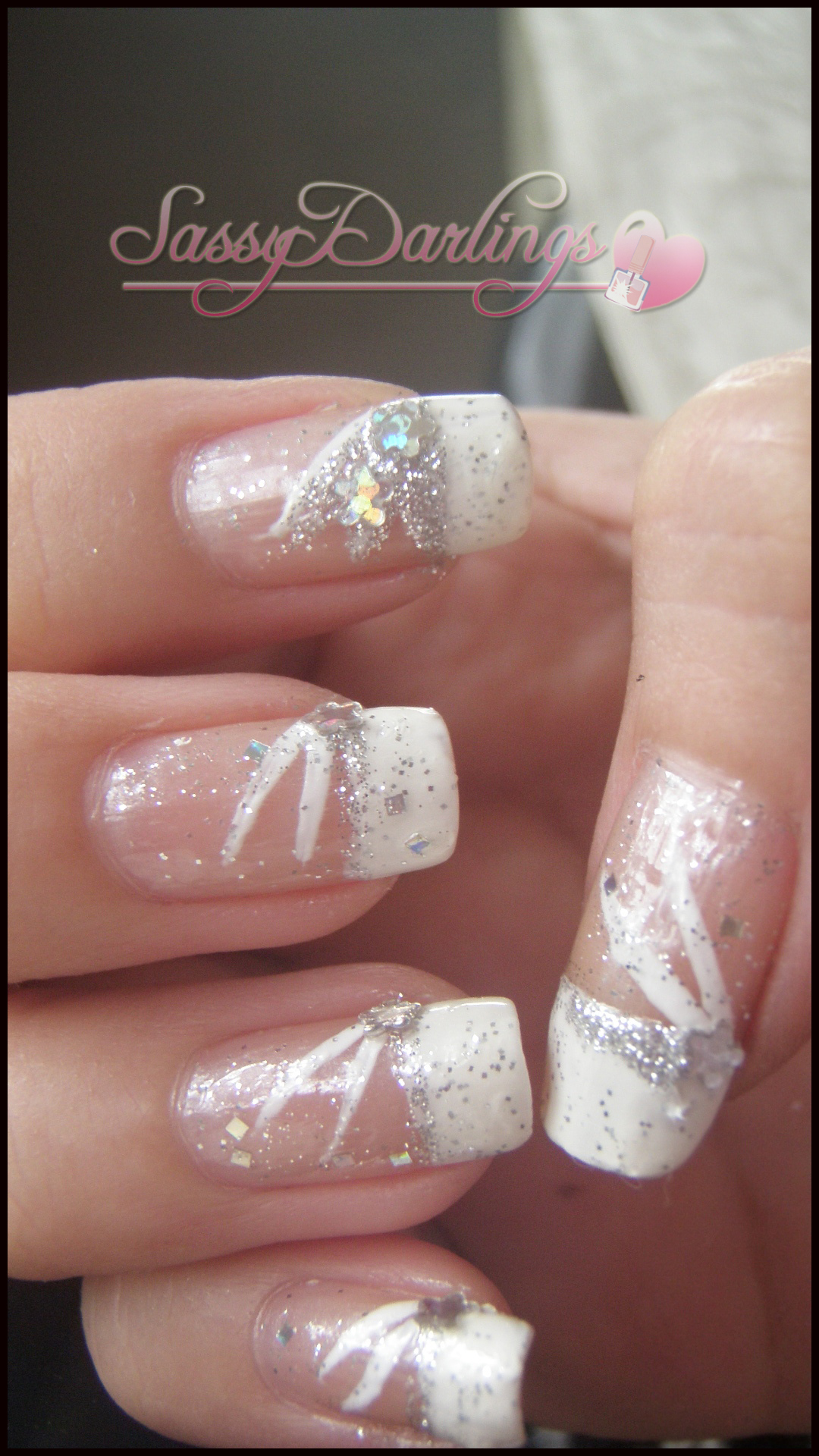French Tip Wedding Nail Designs Maxicub