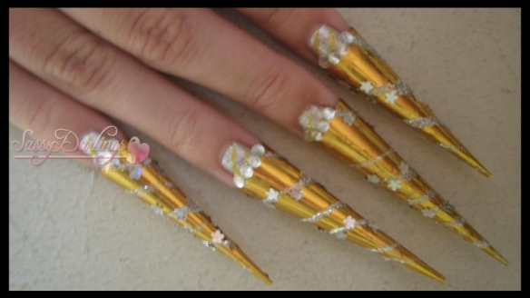 Nails Art: Kawaii Egyptian