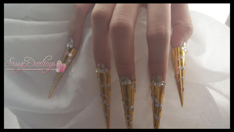 Nails Art: Kawaii Egyptian Inspired Nail Art