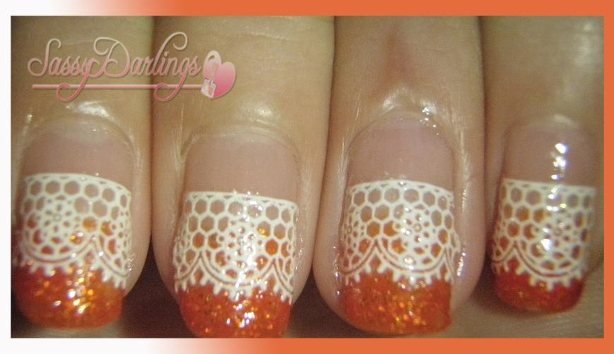 Everyday Orange My Nail Design July 31 August 32010 Nail Art Love