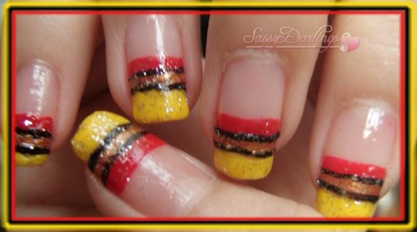 August 2010 Nail Art Love