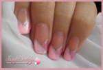 Pink Bridal French Manicure