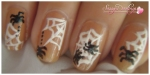 Spider's Web Nail Art