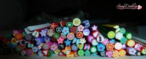 100 Nail Art Fimos