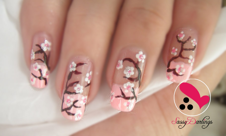 Cherry Blossoms | Nail Art Love