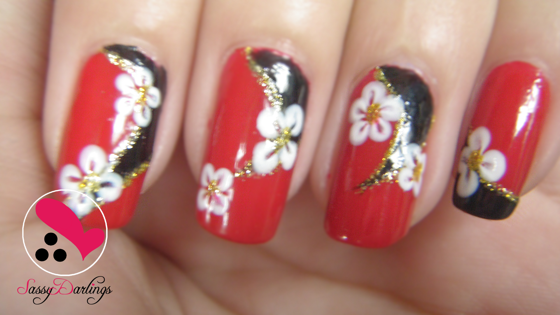 2ne1s Minzy I Love You Mv Nails Nail Art Love