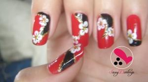 2NE1 Minzy Nail Art